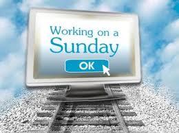 Working on Sunday